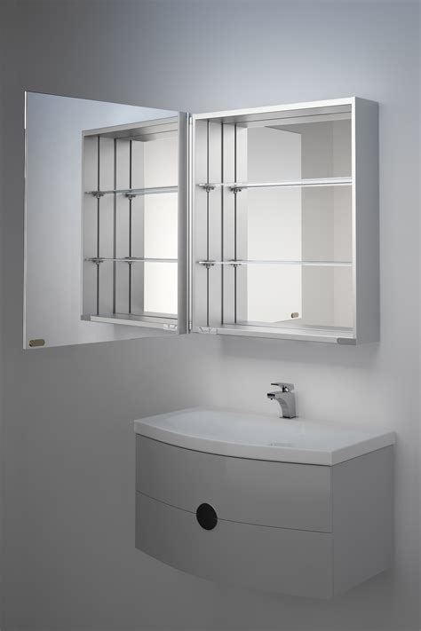 Mirrored Bathroom Cabinets by Iris Mirrored Bathroom Cabinet H 700mm X W 600mm X D