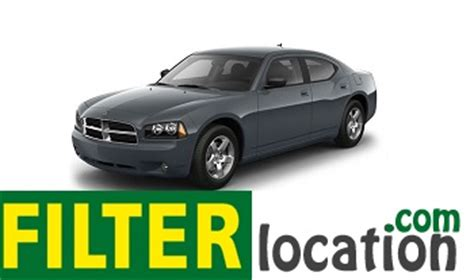 Fuel Filter 2009 Dodge Charger by Dodge Charger Cabin Air Filter Location