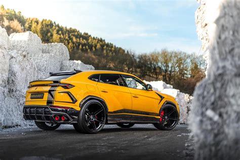 Lamborghini Urus Photo by Manhart Reveals 800hp Lamborghini Urus Gtspirit