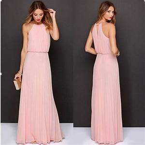summer women sexy long party dresses 2016 sleeveless With robe guess 2017