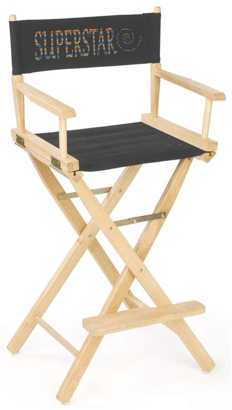 canvas director s chair portable furniture with custom