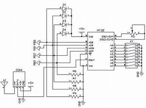 Circuit Diagram Of The Rf Signal Transmitting Unit For