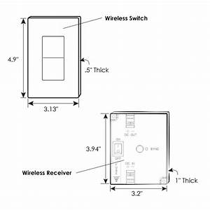Wireless Led Dimmer  Receiver System