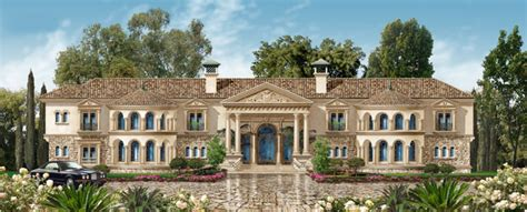 Homes & Mansions 10,000 Sf Mansion Designed For A Lot In