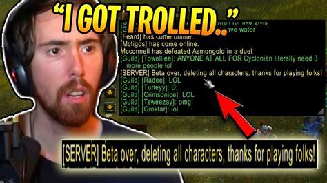 blizzard trolls   classic wow beta wow classic