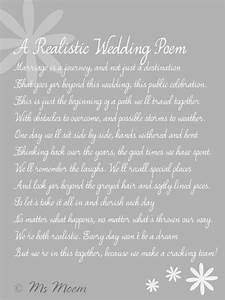 realistic wedding poem ms moem msmoem aka amy iwantapoem With wedding poems for ceremony