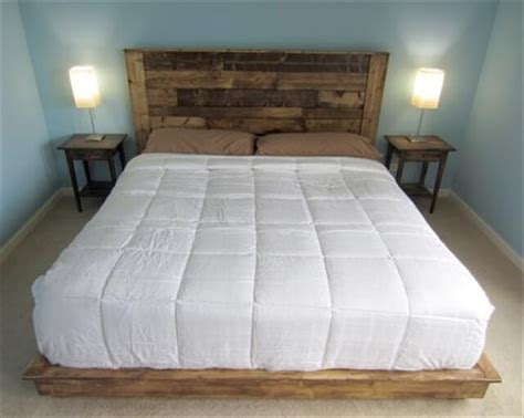 How To Make A Bed Frame With Headboard And Footboard by 16 Wonderful Diy Pallet Headboard Ideas Diy To Make