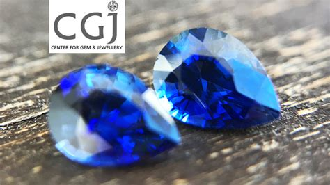 Blue Sapphire 1 44ct certified 1 44ct royal blue sapphire pair