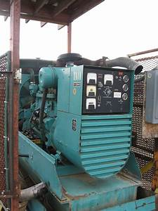 Onan 75 Kw Generator Set For Sale  767 Hours