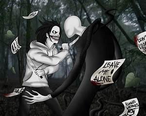 Universo da Creepypasta: Jeff vs Slenderman - Creepypasta
