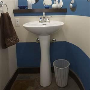 Credence Lavabo Salle De Bain : installer un lavabo sur colonne 1 rona ~ Dode.kayakingforconservation.com Idées de Décoration