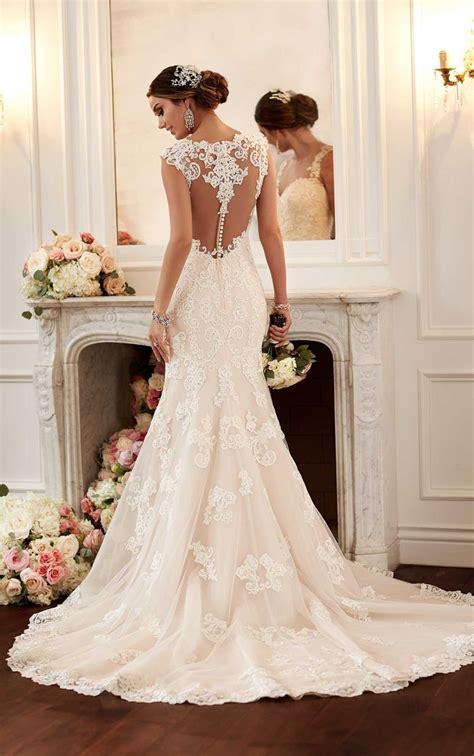 Vestido De Noiva 2016 Vintage Lace Backless Wedding