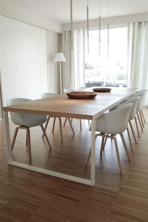 grande table salle  manger table  manger bois clair maisonjoffrois