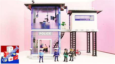 politiebureau playmobil 5182 playmobil politiebureau met alarm uitpakken met