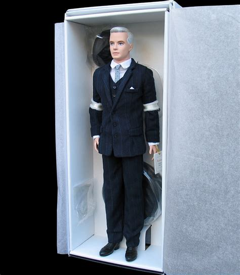 barbie collector  roger sterling fan club exclusive