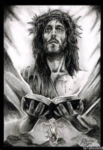 Jesus Christ Portrait Drawing