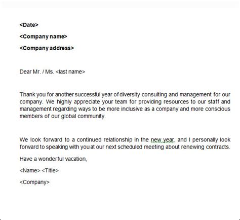 sample business   letters  word