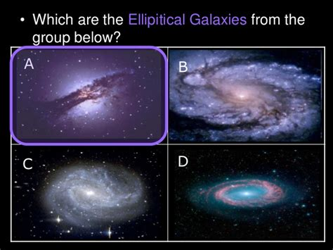 Galaxy Types Galaxies Astronomy Lesson Powerpoint