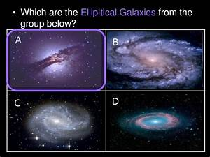 Galaxy, Types of Galaxies Astronomy Lesson PowerPoint