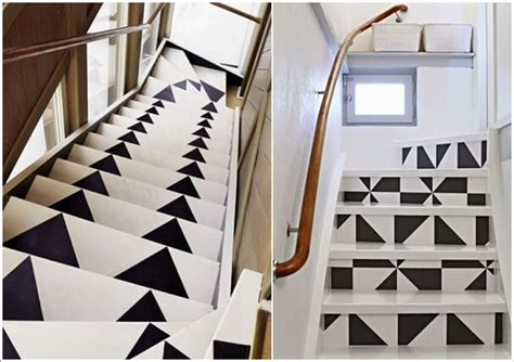 super cool ways  paint  stairs