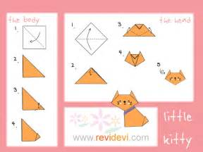 how to make a cat how to make origami cat revidevi