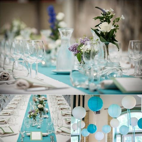 tiffany blue table runner eppel fotografie weddingplanner het bruidsmeisje