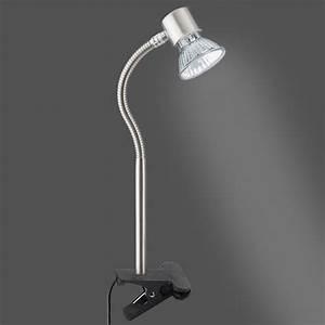 Nachttischlampe Ohne Kabel : klemmleuchte briloner ohne glas ~ Michelbontemps.com Haus und Dekorationen