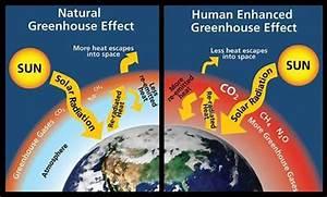 Greenhouse Gases Diagram