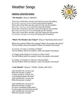 weather theme curriculum ideas for preschool or 276 | original 161407 1