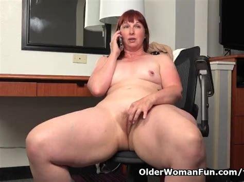 American Bbw Milf Scarlett Has Phone Sex In Office Free