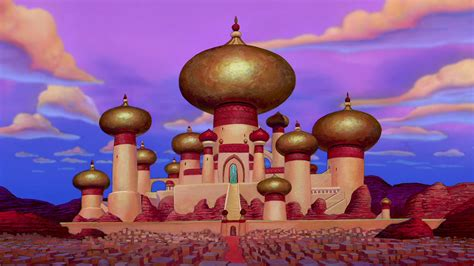 sultans palace aladdin cartoon walt disney hd