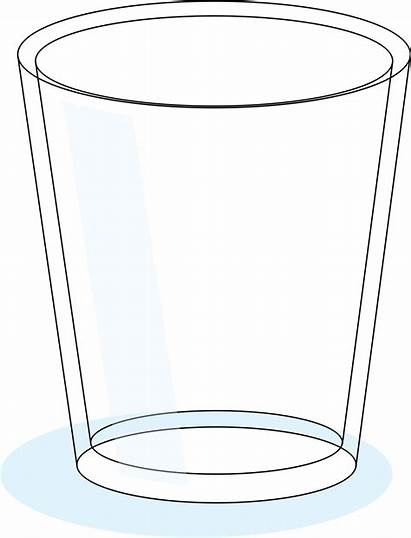 Empty Glass Clipart Clip Cup Drinking Glasses