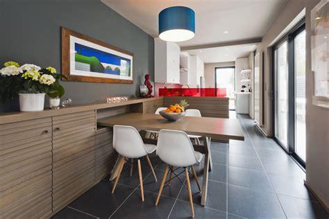 Smalle Tafel Voor In De Keuken by Gerenoveerde Rijwoning Met Modern Klassiek Interieur