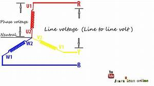 Different Between Line And Phase Voltage