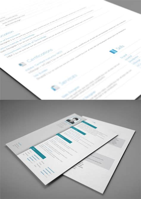 Curriculum Vitae Presentation Folder by Ultimate Collection Of Free Adobe Indesign Templates