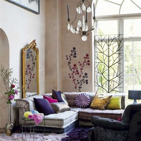 Find inspiration in these gorgeous bohemian decor ideas for bedrooms, living rooms, and more. 85 Inspiring Bohemian Living Room Designs - DigsDigs