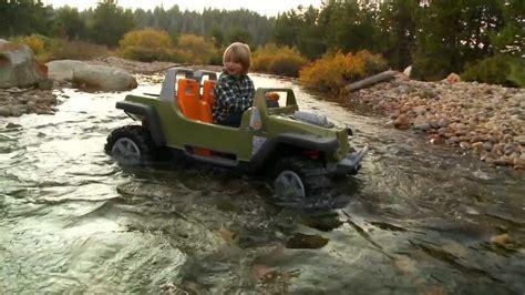 Power Wheels Jeep Hurricane With Creek Crossing Youtube