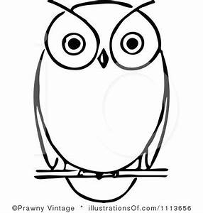 Free Owl Black And White Clipart - Clipart Suggest