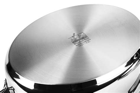 clad oval roaster  cover rack stainless steel roasting pan cutlery