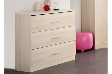 chambre a coucher bois commode de chambre bois acacia clair trendymobilier com