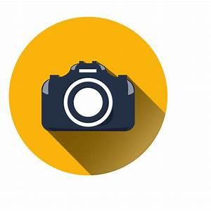 Ícone de círculo de câmera plana - Baixar PNG/SVG Transparente
