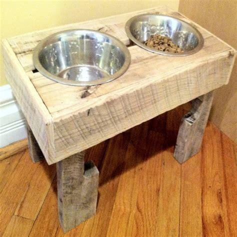pallets  dog bowls pallet ideas