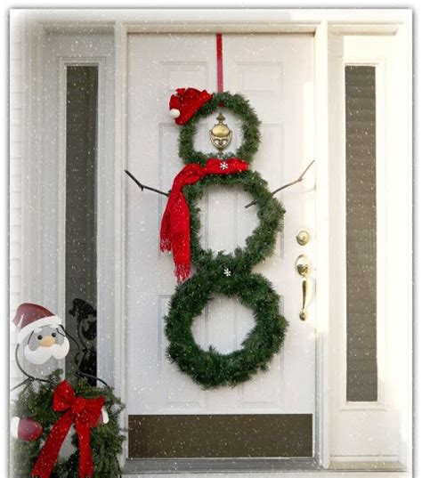 diy versatile snowman wreath tutorial  wow style