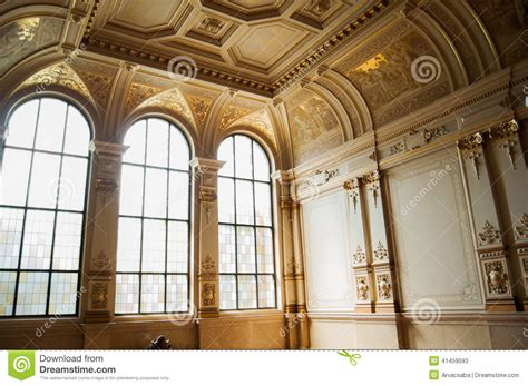 fancy hall stock photo image