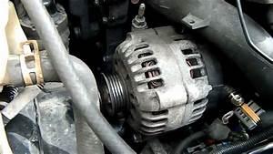 Replacing The Alternator Or Belt Tensioner On Oldsmobile