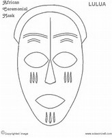 hd wallpapers african mask template pdf