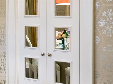 Options For Mirrored Closet Doors  Home Remodeling