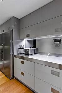 25 modern small kitchen design ideas With modern kitchen designs for small spaces