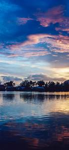 nx17 sunset river lake beautiful nature wallpaper