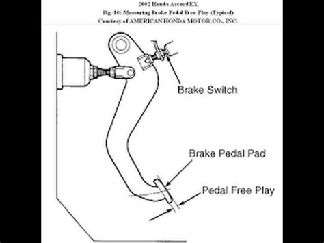 1962 Ford Truck Brake L Wiring by How To Install A Brake Light Switch Car And Truck Repairs